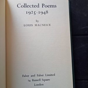 Collected Poems 1925-1948 Used Books