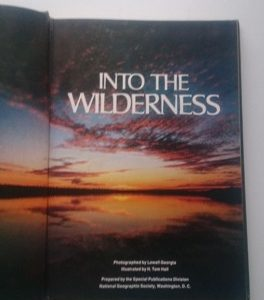Into the Wilderness Second hand books