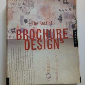 The Best of Brochure Design 5 Used Books