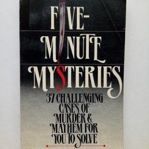Five Minutes Mysteries Used Books