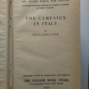 The Campaign In Italy Second Hand Books