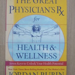The Great Phisician's Rx for Health & Welness Second hand books