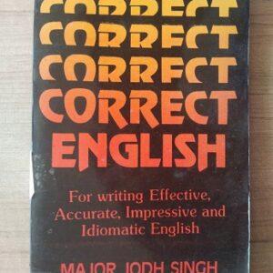 Correct English Used books
