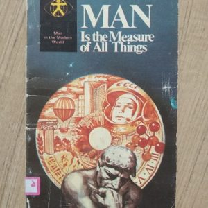 Man Is The Measure of All Things Second hand books