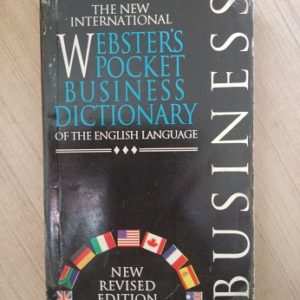 Webster's Pocket Business Dictionary Second hand books