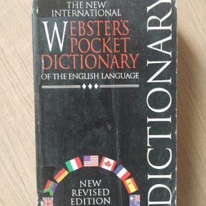Webster's Pocket Dictionary Used Books