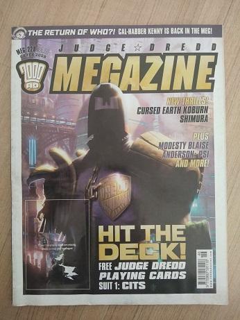 Judge Dredd Magazine Used Books
