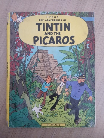 Used Book Tintin And The Picaros