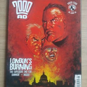 Used Book London's Burning