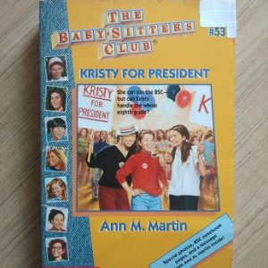 Used book The BabySitter's Club - Kristy For President