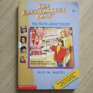 Used book The BabySitter's Club - The Truth About Stacey