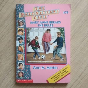 Used book The BabySitter's Club - Mary Anne Breaks The Rules