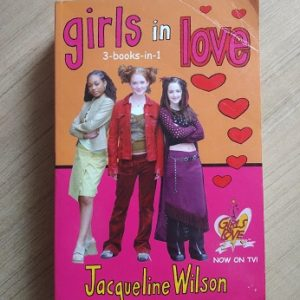 Used book GIRLS IN LOVE - JACQURLINE WILSON - 3 BOOKS IN 1