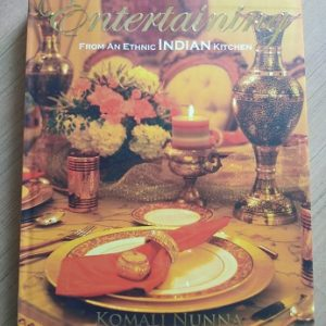 Used book Entertaining Food - From An Ethnic Indian Kitchen