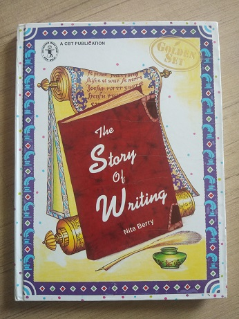 Second Hand Book The Story of Writing by Nitin Berry