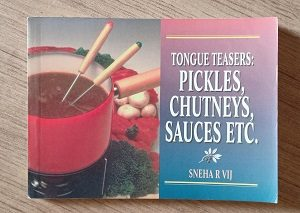 Used Book Tongue Teasers Pickles, Chutney's Sauces Etc