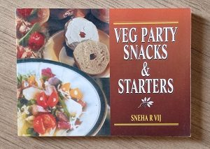 Used Book Veg Party Snacks & Starters