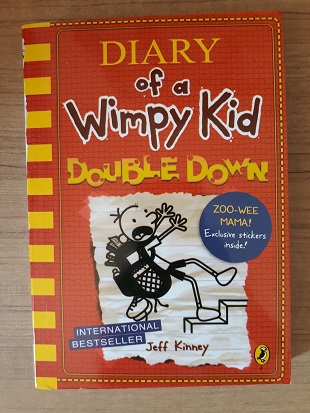 Used Book Diary of a Wimpy Kid - Double Down