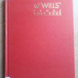 Used Book Wills Sport Golf Book - Golf And Beyond