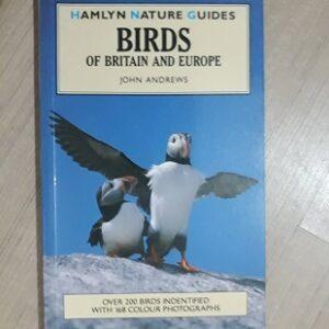 Used Book Birds of Britain & Europe - John Andrews