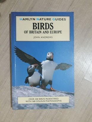 Used Book Birds of Britain & Europe - John Andrews