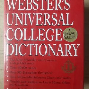 Used Book Webster's Universal Collage Dictionary