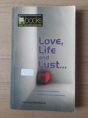 Used Book Love Life & Lust - Pritesh Bhosale