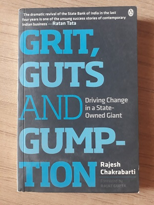 Used Book Grit Guts And Gumption - Rajesh Chakrabarti