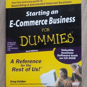 Used Book Starting An E-Commerce Business for Dummies