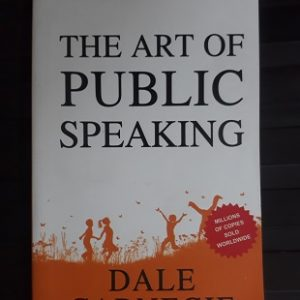 Used Book The Art of Public Speaking - Dale Carnegie