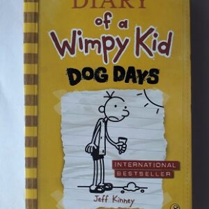 Used Book Diary of a Wimpy Kid - Dog Days