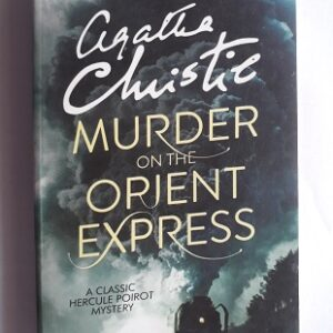 Used Book Murder on the Orient Express by Agatha Christie