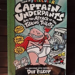 Used Book Captain Underpants And The Attack of Talking Toilets