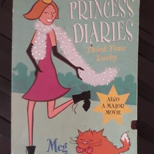 Used Book The Princess Diary - Third Time Lucky By Meg Cabot
