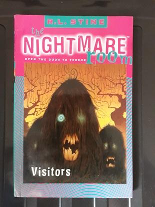 Second hand book The Nightmare Room Visitors - R.L. Stine