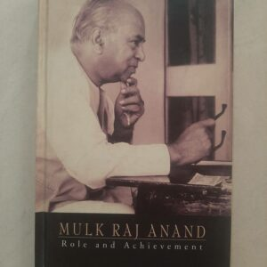 Used Book Mulk Raj Anand - Role And Acheivement