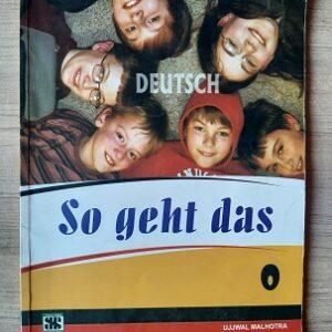 Used Book SO GEHT DAS - DEUTSCH