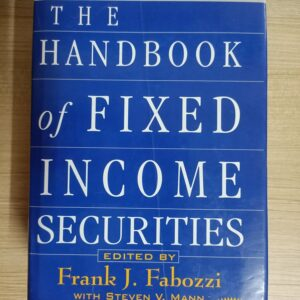 Used Book The Handbook of Fixed Income Securities