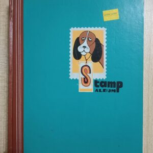 Used Book Stamp Album (Blank Book)