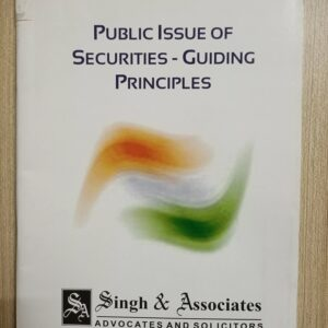 Used Book Public Issue of Securities - Guiding Principles