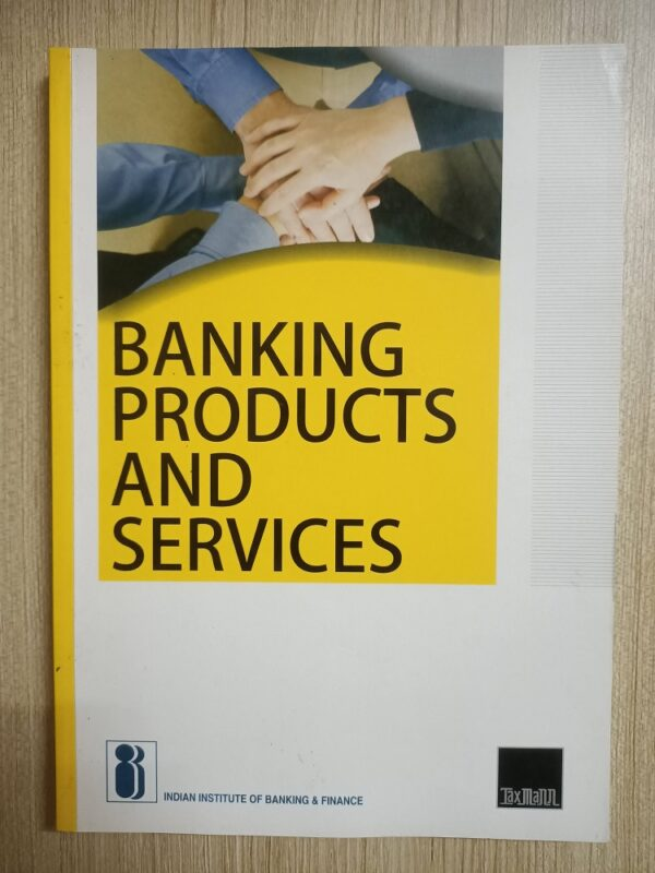 Second hand book Banking Poducts And Services