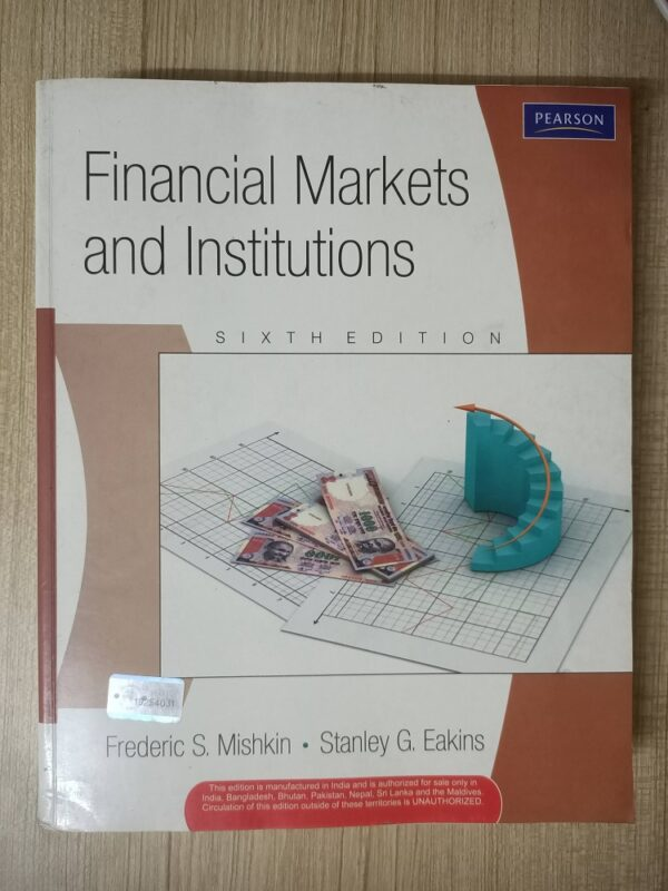 Second hand book Financial Markets And Institutions
