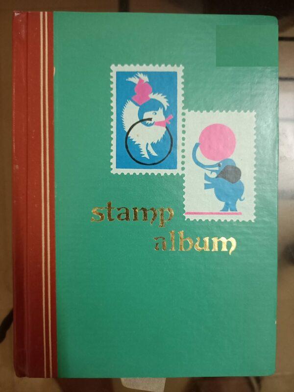 Second hand book Stamp Album (Blank Book)