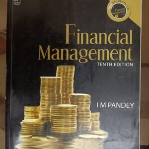 Second hand book Financial Management - I M Pandey