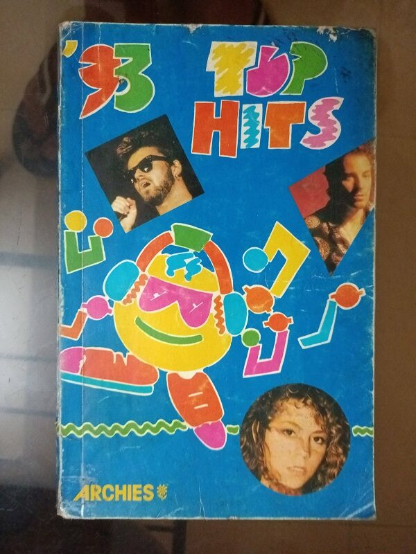 Second hand book Top Hit English Songs of 1993