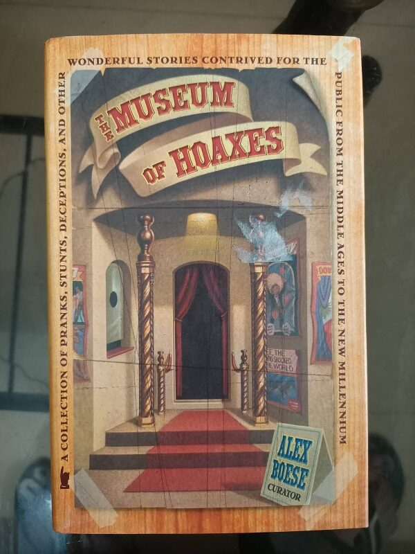 Second hand Book The Museu of Hoaxes